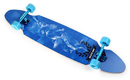 Skateboard, Longboard, Streetsurfer, Surfboard, Modell Adler, 110 x 26 cm