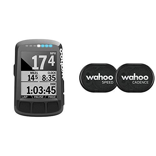 Wahoo ELEMNT Bolt GPS-Fahrradcomputer & RPM Geschwindigkeits- und Trittfrequenzsensor, Bluetooth/ANT+