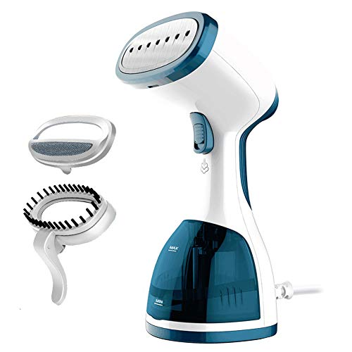ANBANGLIN Travel Clothes Steamer- Top Handheld Steamer for Clothes -Fast Heat-up Portable Steamer - Best Fabric Steamer - Garment Steamer Handheld / 260ml Capacity Water Tank at Home & in Travel
