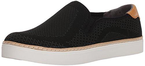 Dr. Scholl's Shoes Women's Madi Sneaker, Black Knit, 7.5 M US