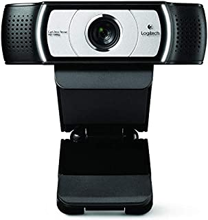 Logitech C930e 960-000972 1080p Full HD Webcam, Black