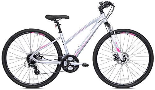 Giordano Brava Aluminum Hybrid Comfort Bike, 700c Women's Small