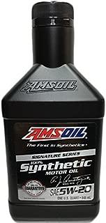Amsoil ALMQT-EA Signature Series 5W-20 Synthetic Motor Oil