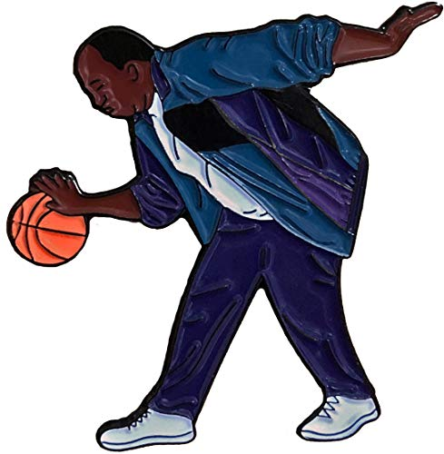 Balanced Co. Stanley Hudson Basketball Enamel Pin Michael Scott Pin