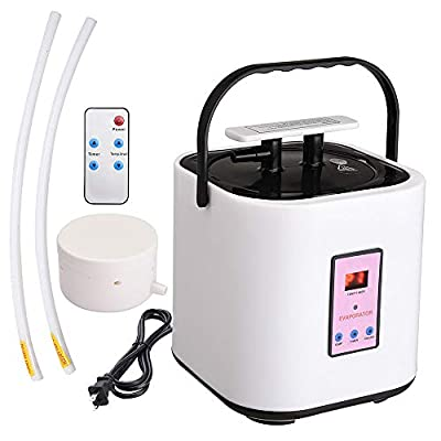 AW 2L Sauna Steamer Machine Stainless Steel Pot Steam Generator for Portable Sauna Tent with Remote Home Spa