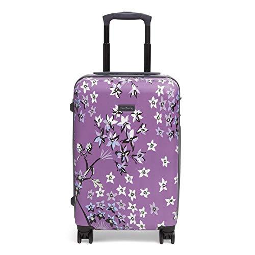 Vera Bradley Hardside Rolling Suitcase Luggage, Lavender Dandelion, 22' Carry On
