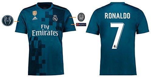 Trikot Herren Real Madrid 2017-2018 Third UCL - Ronaldo 7 (XXL)