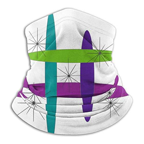 fenrris65 Mod - Máscara elíptica para la cara, bufanda, calentador de cuello, pasamontañas, diadema para polvo, deportes al aire libre, sol