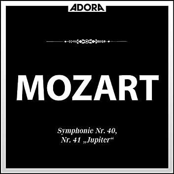 Mozart: Symphonie No. 40 und 41