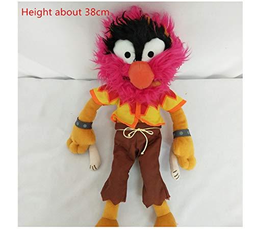 asdfkong Plüschtier Groß Die Muppet Kermit Der Frosch Fozzie Bär Tier Gonzo Stofftiere Puppe Für Kinder Spielzeugpuppen 30cm