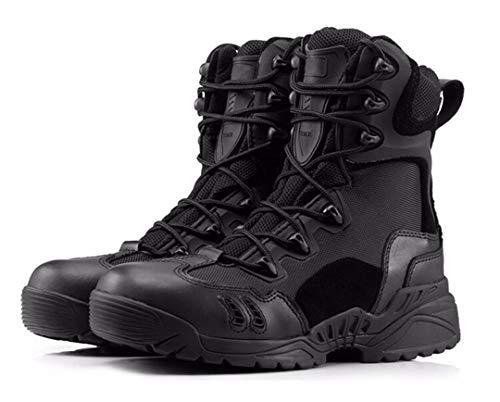Extérieur Armée imperméable Tactique Bottes Hommes Militaire du désert Chaussures de Combat Respirant Sneaker Escalade Black 6.5