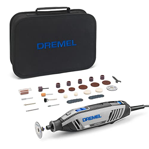 Dremel 4250 Rotary Tool 175 W, Multitool Kit with 35 Accessories, 175W Motor with Electronic Feedback, Variable Speed 5.000-35.000 RPM