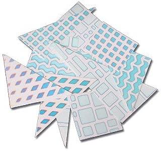 Dicro Slide Pattern Scrap Pack - Small