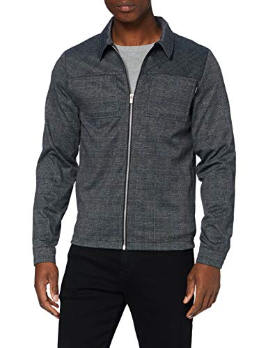 JACK & JONES Herren JPRBLAPHIL Sweat Jacket Jacke, Grey Melange, M
