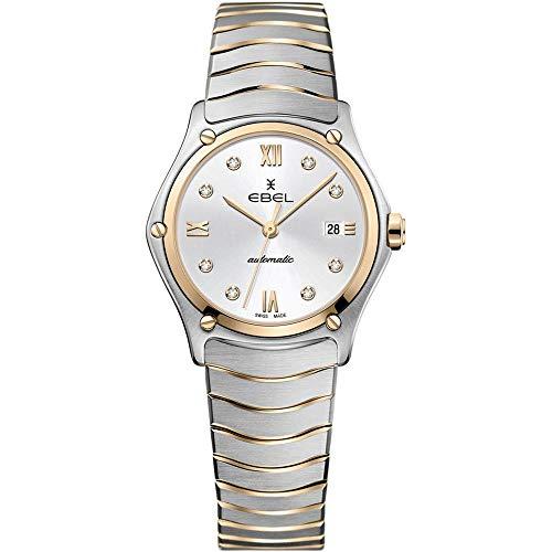 Ebel Sport Classic Reloj de Mujer Diamante Cuarzo Suizo 29mm 1216429A