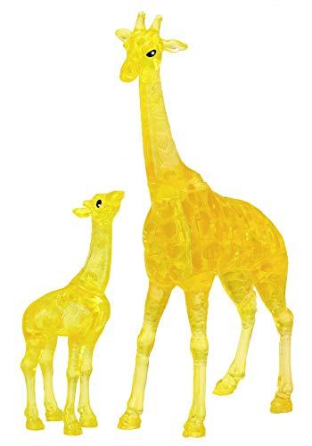 HCM Kinzel Crystal Puzzle 59177 3D Puzzle-Giraffenpaar 38 Teile