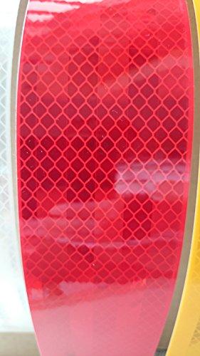 Preisvergleich Produktbild 3M Konturmarkierung für Festaufbauten,  rot,  55 mm breit,  Meterware