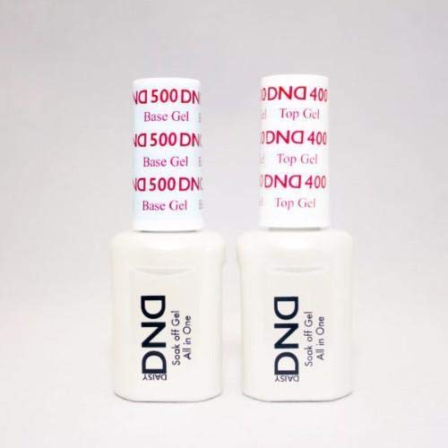 DND Gel Base and Top (0.5 OZ, top)