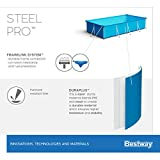 Bestway Steel Pro rechteckiger Kinderpool, mit stabilem Stahlrahmen, 300 x 201 x 66 cm - 15