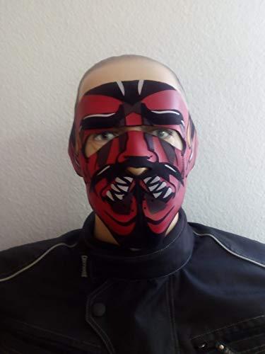 Biker Face Mask Chopper doodshoofd masker bivakmuts doodsschedel AC-501-506 Devil AC-505.