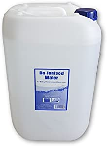 LineLube De-ionised Demineralised Purified Water 25L Litres