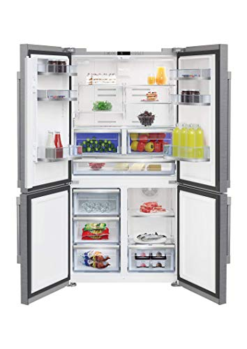 Beko BFFD3626SS 36 Inch Counter-Depth 4-Door French Door Refrigerator with MultiZone Compartment,Internal Water Dispenser, Sabbath Mode and ENERGY STAR Qualified
