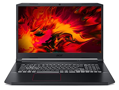 Acer Nitro 5 (AN517-52-75N1) Gaming Laptop 17 Zoll Windows 10 Home - FHD 144 Hz IPS Display, Intel Core i7-10750H, 16 GB DDR4 RAM, 512 GB M.2 PCIe SSD, NVIDIA GeForce RTX 3060 - 6 GB GDDR6