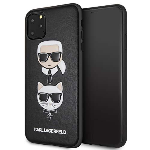 Karl Lagerfeld KLHCN65KICKC Schutzhülle für iPhone 11 Pro Max, Schwarz