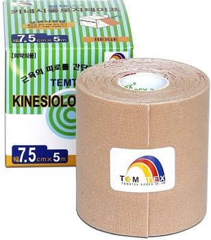 TEMTEX Kinesio Tape Classic 7,5 cm × 5 m