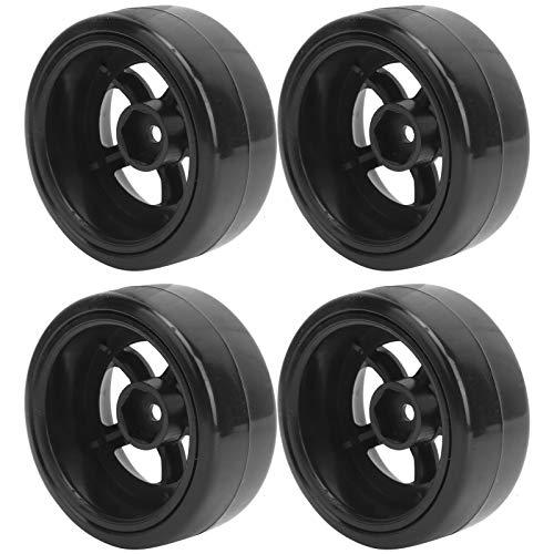 RBSD Neumáticos de Goma RC, Ruedas RC Accesorio para Coche RC Neumáticos RC prácticos y duraderos para WPL para Coche WPL D12 1/10 RC