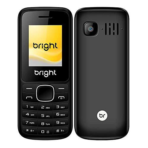 Celular One Dual Chip Preto Mp3/Mp4 Com Câmera 0405 Bright