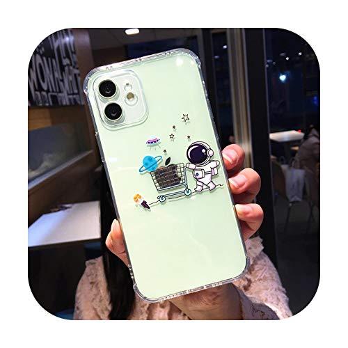 Funda de teléfono para iPhone 12 11Pro Max de TPU con diseño de Shiba Inu para iPhone X XR XS XsMax 7 8Plus-3039-para iPhone 7