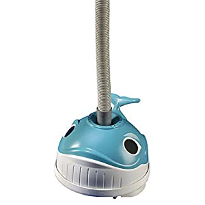 The Wanda the Whale Cleaner from Hayward is designed to automatically clean the bottom of all sizes and shapes of above-ground and on-ground pools Patented SmartDrive programmed steering system ensures quick and thorough cleaning Unique turbine/geari...