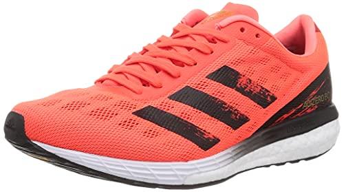 adidas Adizero Boston 9 M, Zapatillas para Correr Hombre, Solar Red Core Black Gold Met, 48 EU