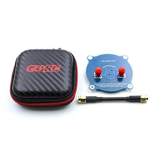 OUYAWEI Toys GEPRC 5.8G Triple Feed Patch-1 Récepteur Rotatif Antenne FPV Directionnelle Omni Panneau Plat
