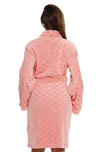 Just Love Kimono Robe Bath Robes for Women 6311-Coral-M