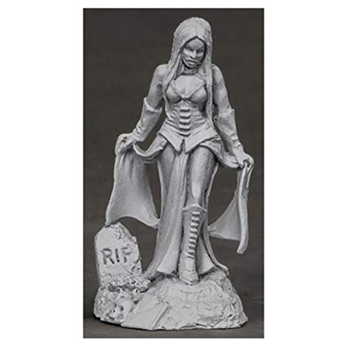 Reaper Miniatures Female Vampire #03853 Dark Heaven Unpainted Metal