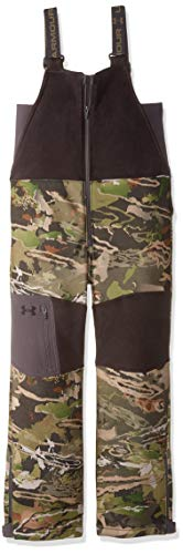 Under Armour Boys Mid Season Bib, Ua Forest Camo (940)/Black, Youth X-Small