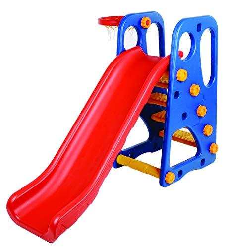 Scivolo per Bambini da giardino da casa Interno Esterno grande 3 Anni 4 Anni Scivolo Bimbi 2-6 Anni super resistente qual