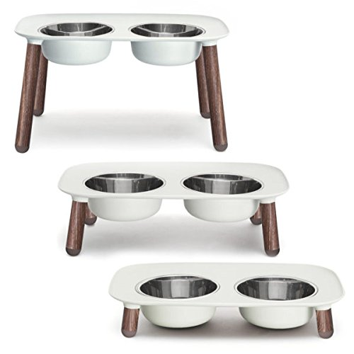 Messy Mutts Elevated Double Dog Feeder