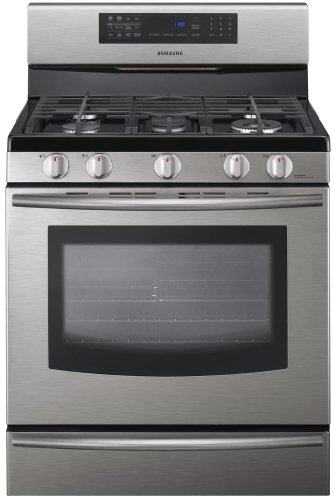 Samsung FX510BGS 30' Stainless Steel Gas Sealed...