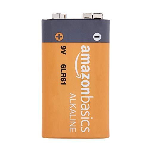 AmazonBasics - Paquete de 24 pilas alcalinas de 9V, gama Everyday