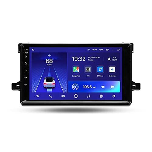Para Toyota Prius XW50 2015-2020Android 10 9'' Autoradio Con Pantalla Táctil/Enlace Espejo/BT/GPS/Mandos De Volante/Cámara Trasera/4G LTE+5G WIFI/3D Dinámica De Conducción En Tiempo Real,Cc2l,2+32G