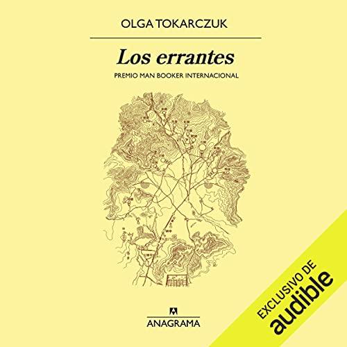 Diseño de la portada del título Los errantes