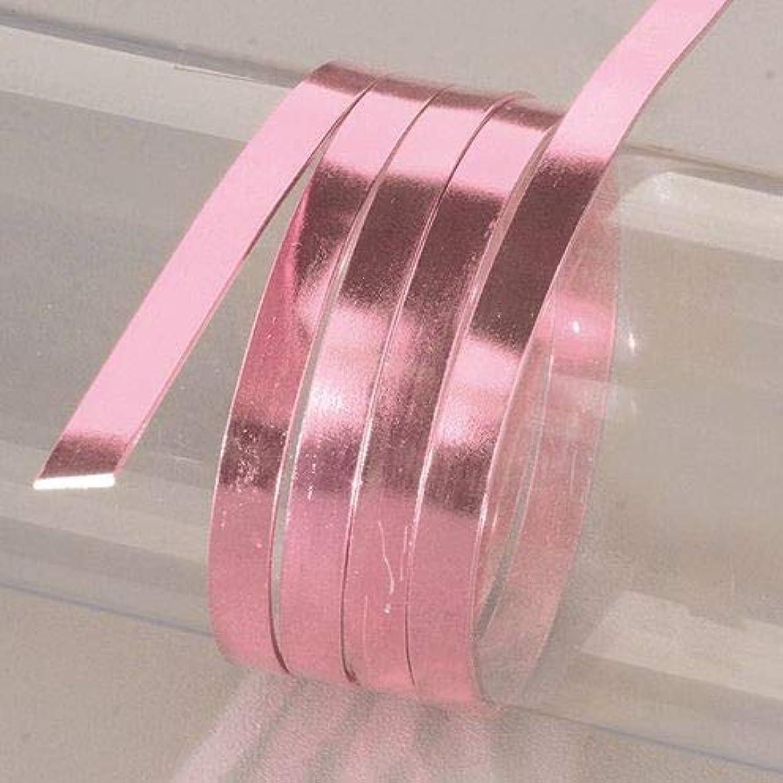 EFCO 1 x 2 mm x 5 m Aluminium Anodised Flat Wire, Light Pink