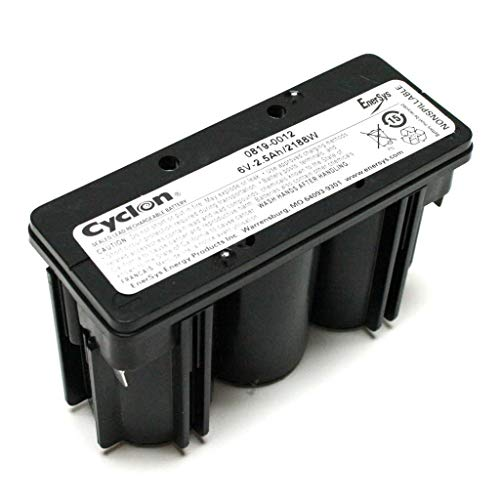 0819-0012 Hawker Energy Cyclon 2.5-6 6 Volt Block 2500mAh