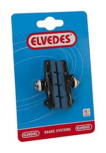 ELVEDES 1 Paire Portes Patins Frein Route 55mm pour Jantes Carbone, Shimano Vélo/Cycle/VAE/E-Bike Adulte Unisexe, Bleu