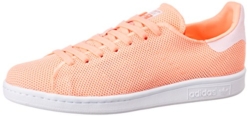 adidas Stan Smith, Zapatillas de Tenis Mujer, Naranja (Sunglow/Sunglow/Ftwwht Sunglo/Sunglow/Ftwwht), 38 EU