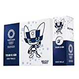 TOKYO 2020 オリンピック マスコット ゴルフボール TOUR B JGR 12個(1ダース) 東京 OLYMPIC