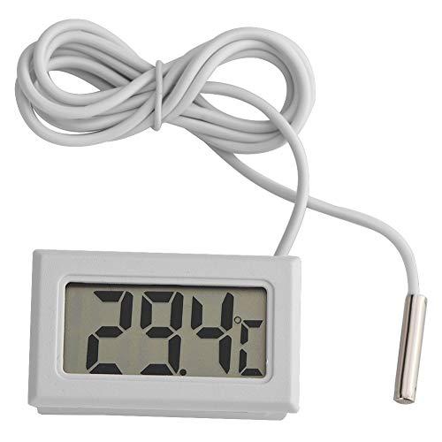 Sonde Pour Temperature Thermometre Refrigerateur, Moniteur De Température Avec Sonde Imperméable Externe Pour Aquarium De Réfrigérateur